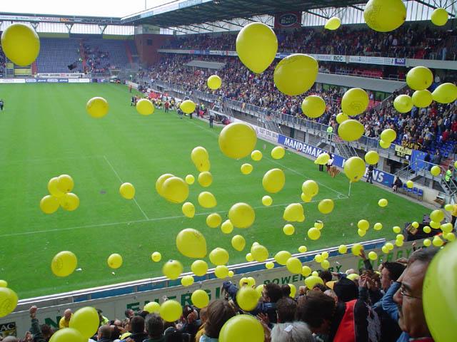 Ballonnen NAC - AZ (2003)