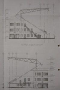 Bouwtekening stadion (2001)