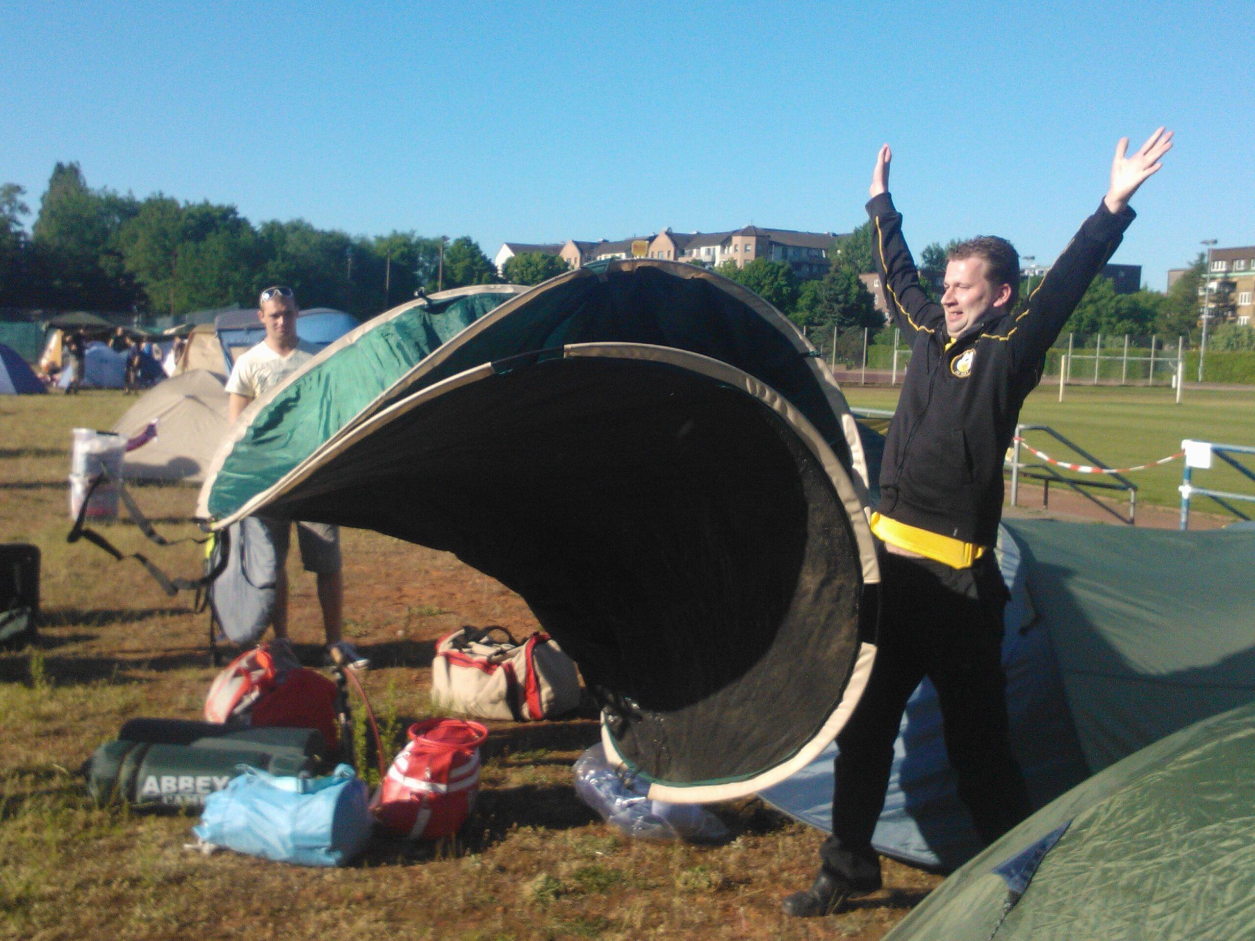 Campinglife op supporterstoernooi in Hamburg (2012)