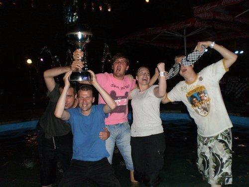 Europa cup winst in Kapan (2009)