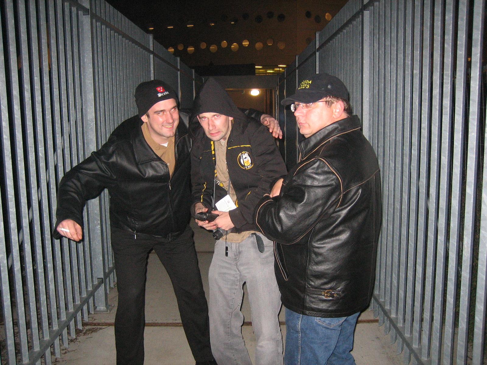 Hooligans in Groningen (2006)