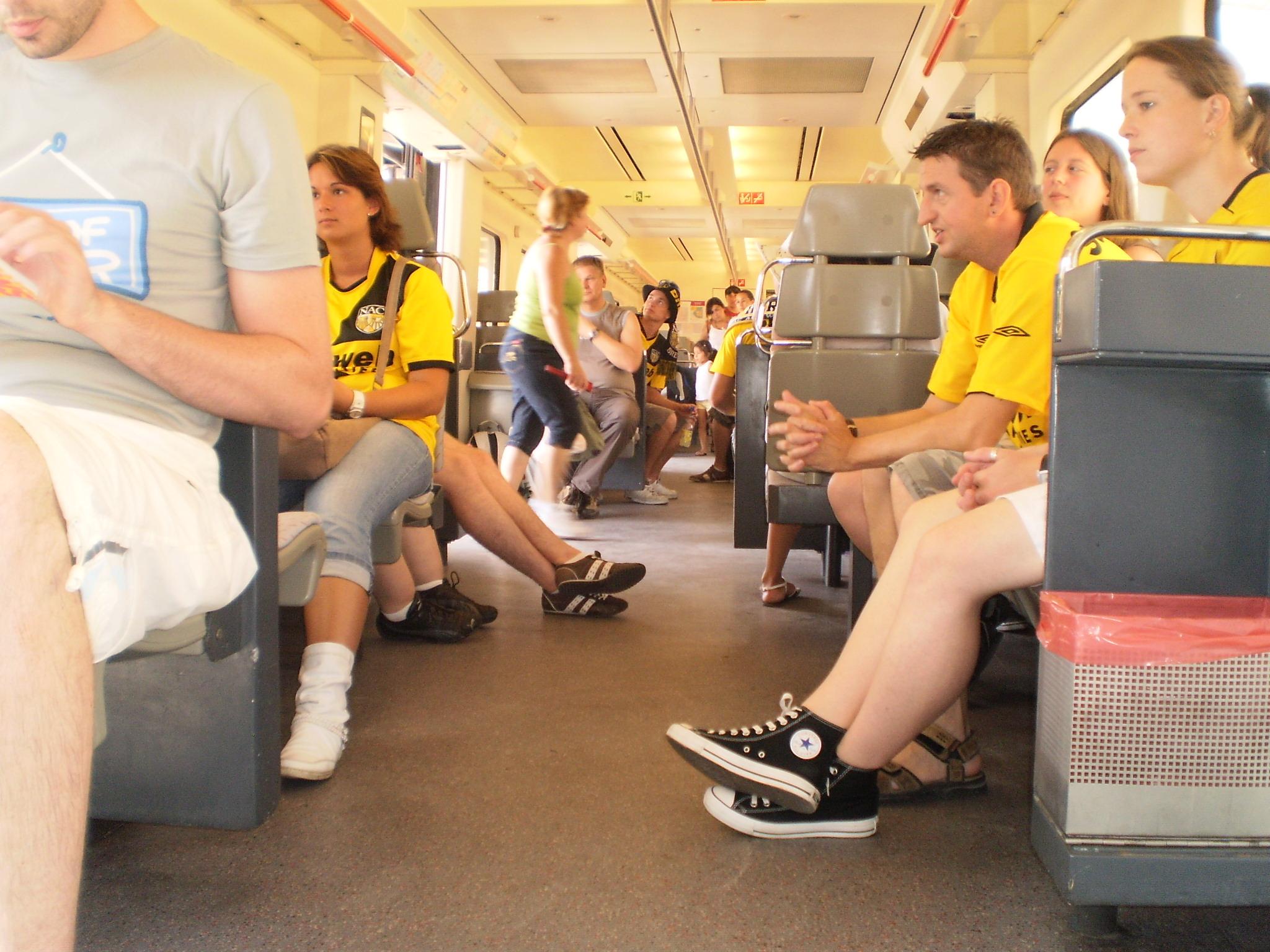 Onderweg van Valencia naar Villareal (2009)