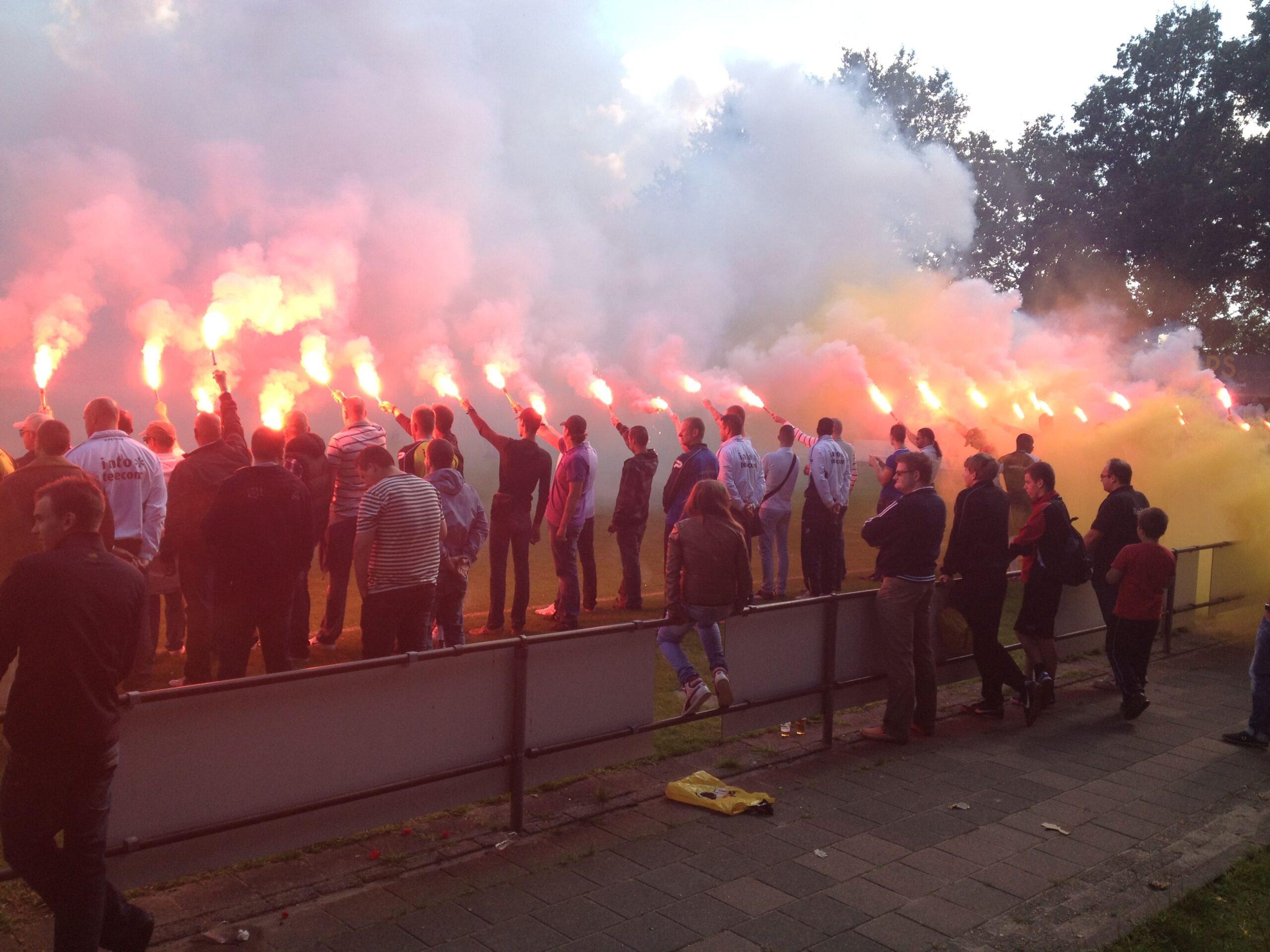 Laatste training voor Willem II uit (2014)