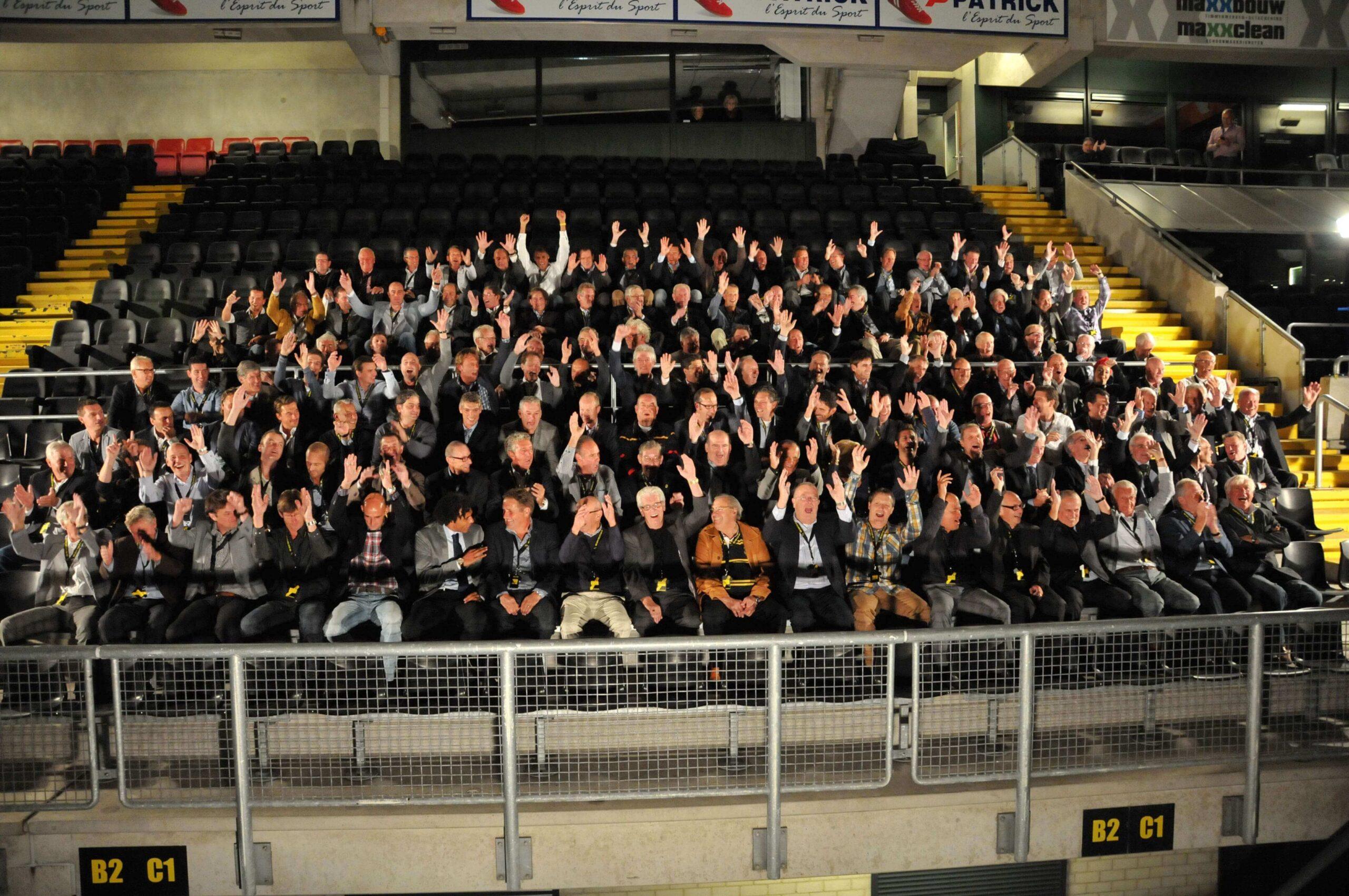 NAC Reunie groepsfoto spelers (2012)