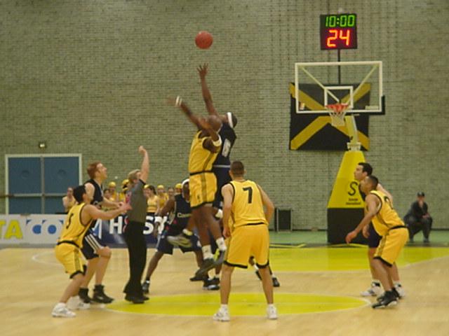 NAC basketbal Conesco (2001)
