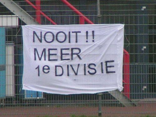 Nooit meer 1e divisie (2006)
