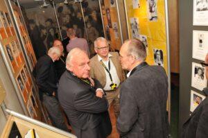 Oud spelers op bezoek in het NAC Museum (2012)