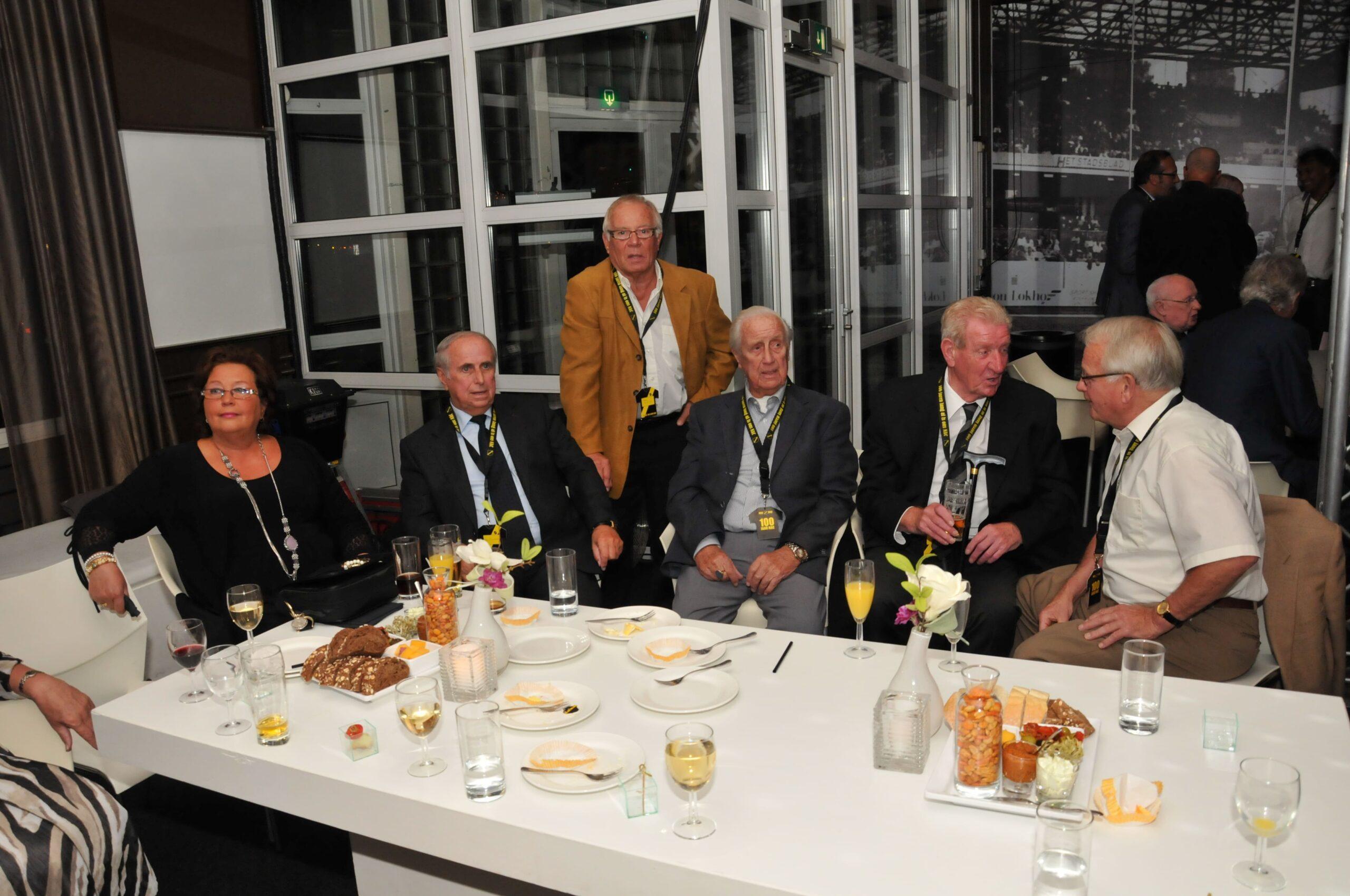 Reunie oud NAC bij 100 jaar NAC (2012)