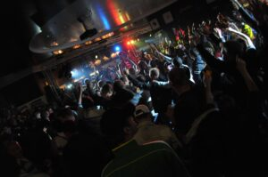 Spontaan feest op woensdagavond 100 jaar NAC (2012)