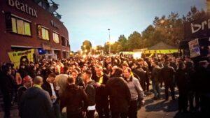 Supportersplein NAC -Sparta (2015)