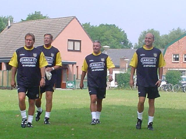 Training bij Dennenlucht (2004)