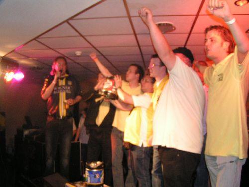 Breda Locos op het podum bij UWD (2006)