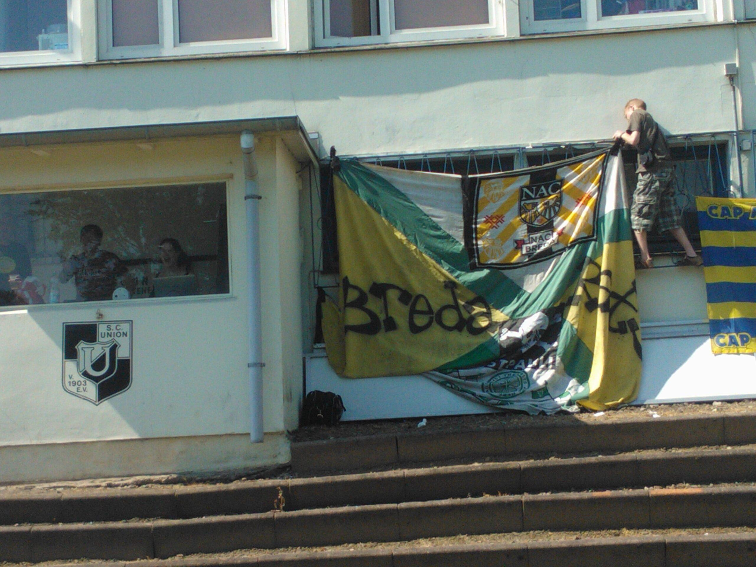 Vlagvertoon in Hamburg (2012)