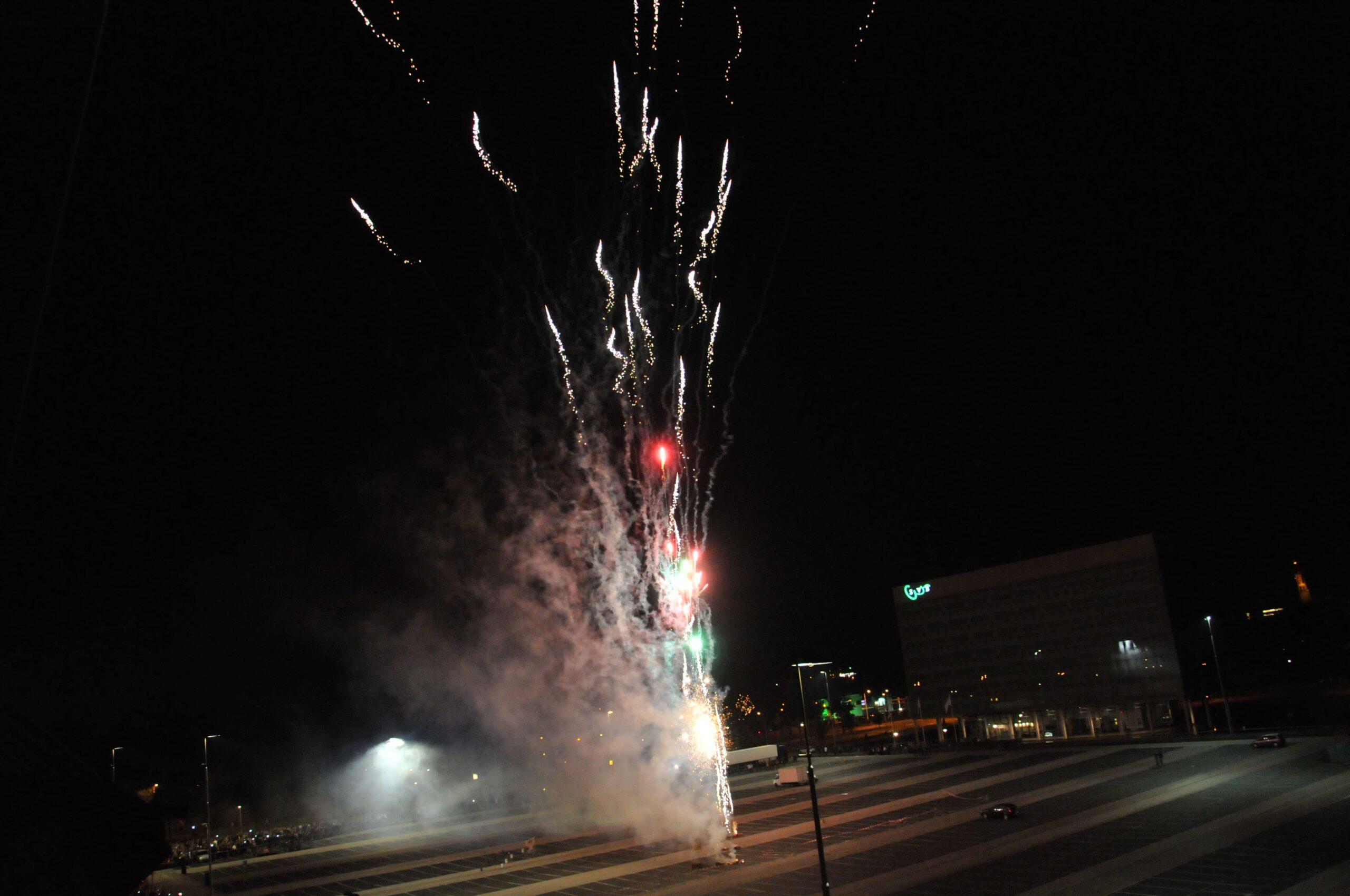 Vuurwerk 100 jaar NAC (2012)