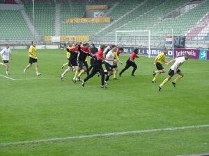 Willem II - NAC spelers naar het uitvak (2001)